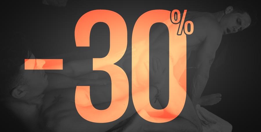 30% de Réduction!