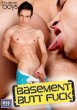 Basement Butt Fuck (Bottom Boys) DVD - Front