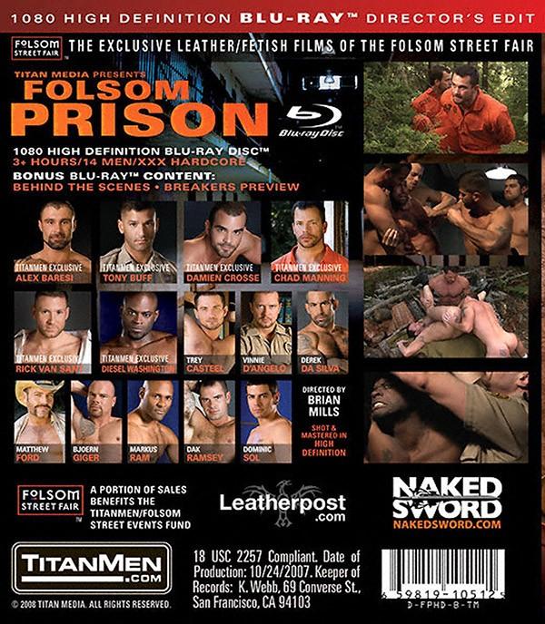 Folsom Prison BLU-RAY - Back
