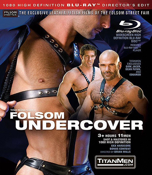 Folsom Undercover BLU-RAY - Front