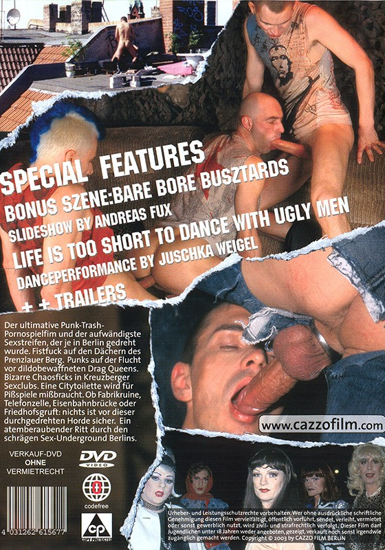 Bonking Berlin Bastards DVD - Back