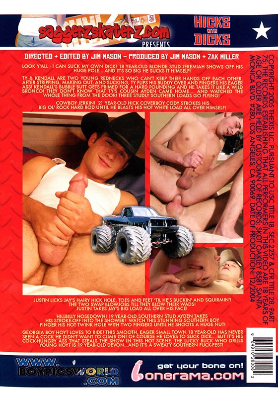Hicks with Dicks DVD - Back