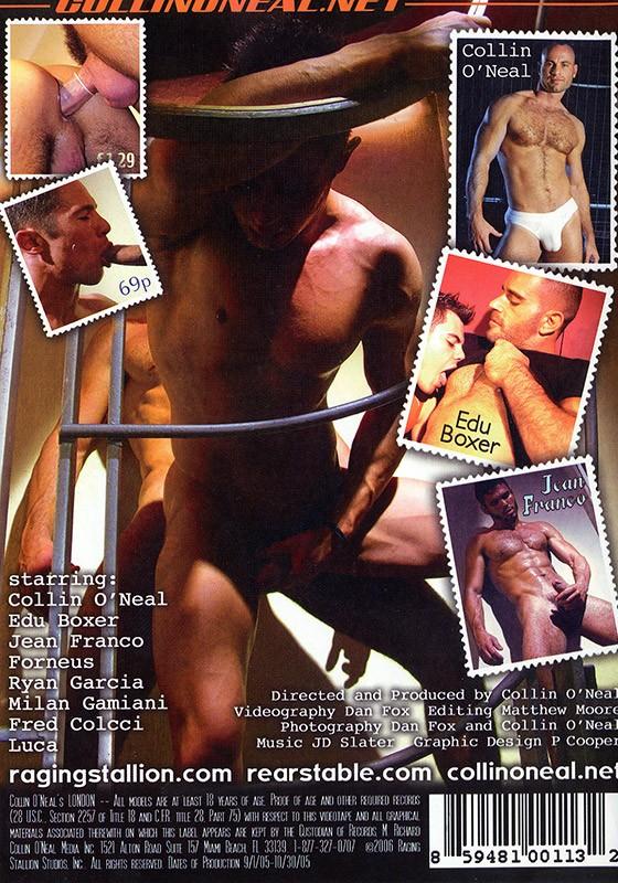 Collin O'Neal's London DVD - Back