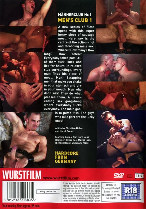 Männerclub I DVD - Back