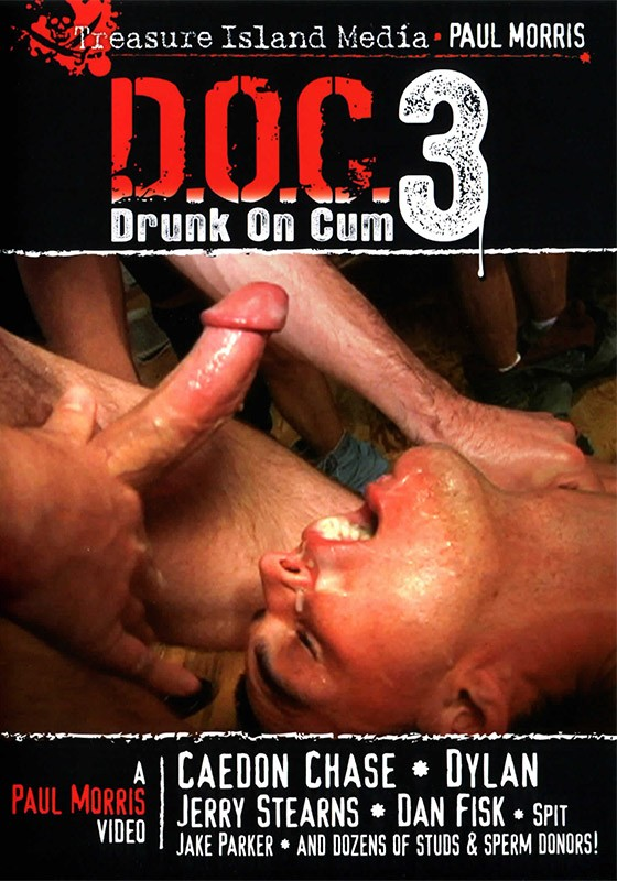 Drunk on Cum 3 DVD - Front