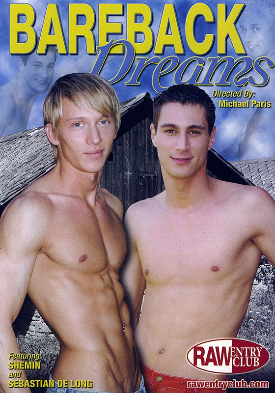 Bareback Dreams DVD - Front