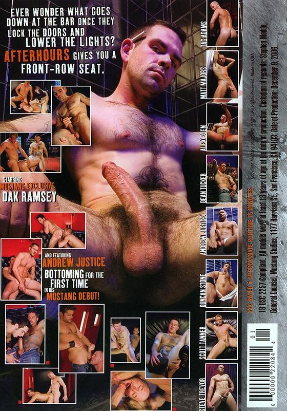 Afterhours DVD - Back