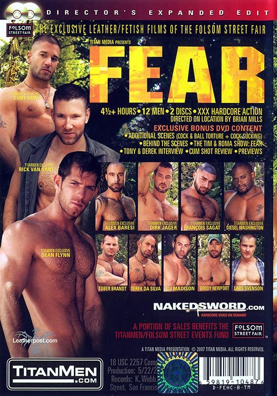 Fear DVD - Back