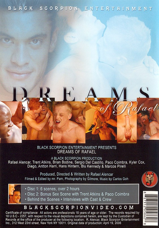 Dreams of Rafael DVD - Back