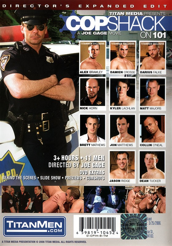 Copshack on 101 DVD - Back