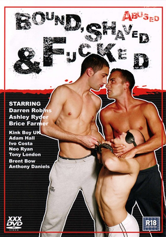 Bound, Shaved & Fucked DVD - Front