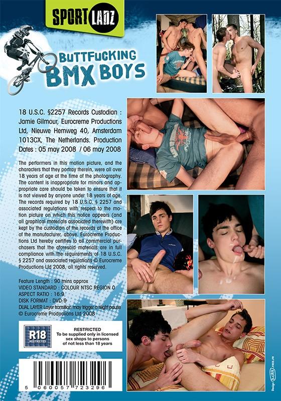 Buttfucking BMX Boys DVD - Back