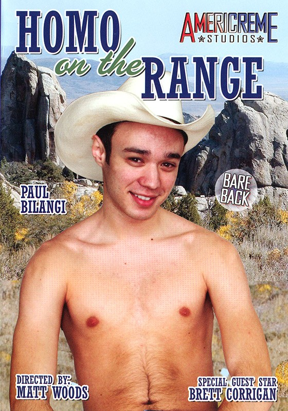 Homo on the Range DVD - Front