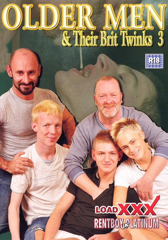 Older Men & their Brit Twinks 3 DVD - Front