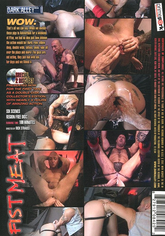 Fist Meat DVD - Back