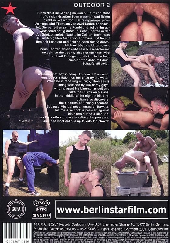 Outdoor 2 DVD - Back