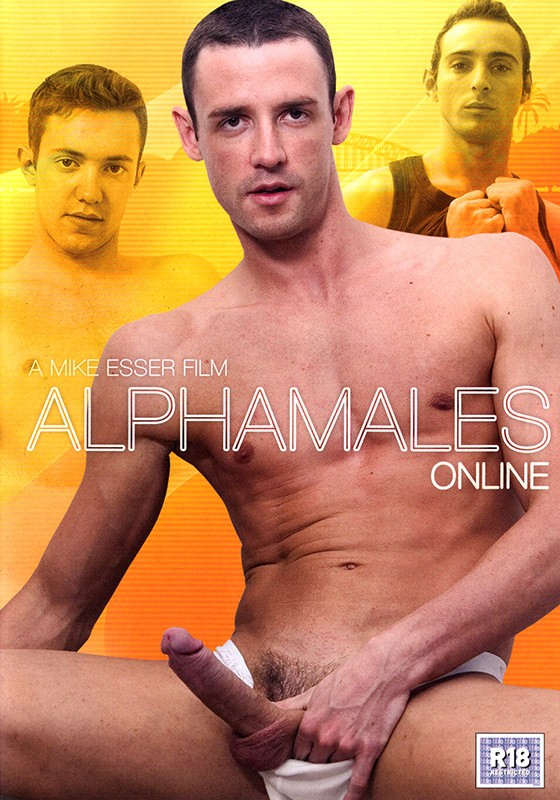 Alphamales Online DVD - Front