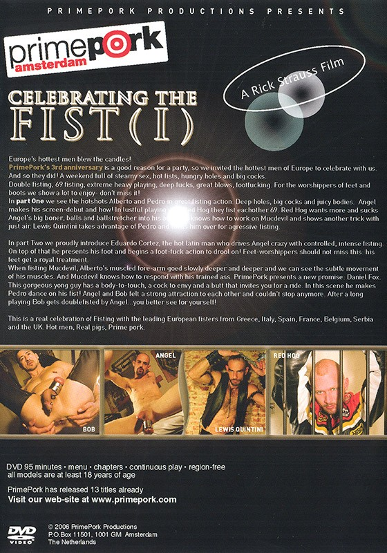 Celebrating the Fist 1 DVD - Back