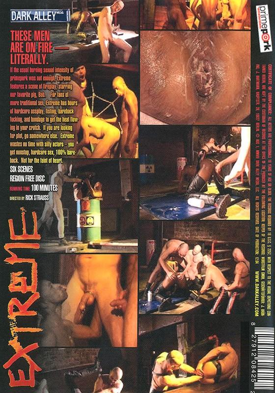 Extreme DVD - Back