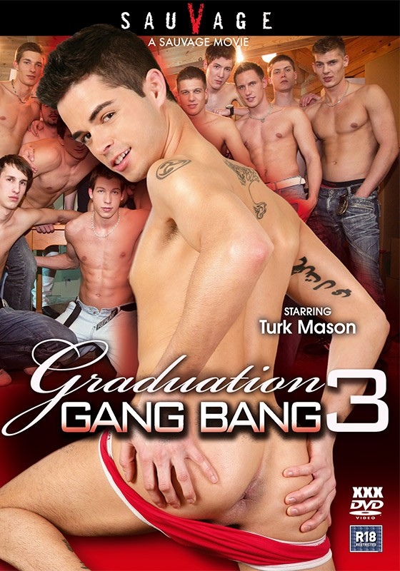Graduation Gang Bang 3 DVD - Front