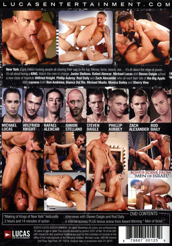 Kings of New York DVD - Back