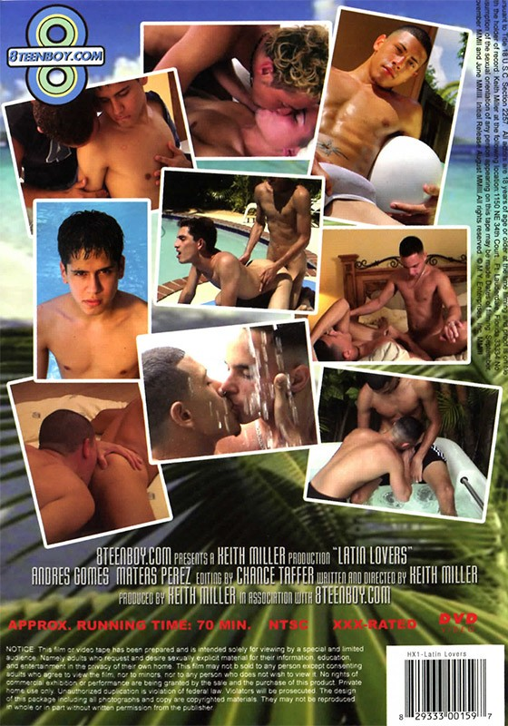 Latin Lovers DVD - Back