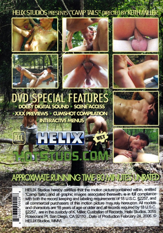 Camp Tails DVD - Back