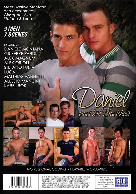 Daniel & His Buddies DVD - Back
