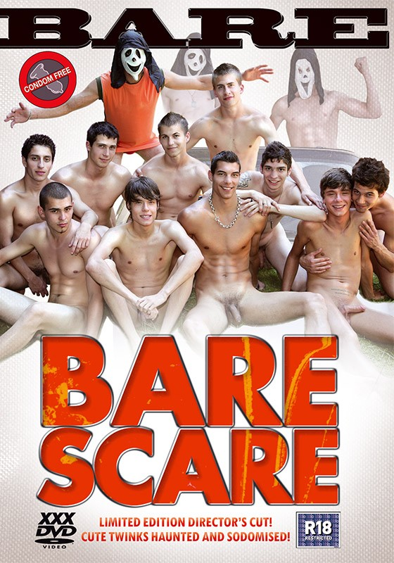 Bare Scare (Director's Cut) DVD - Front