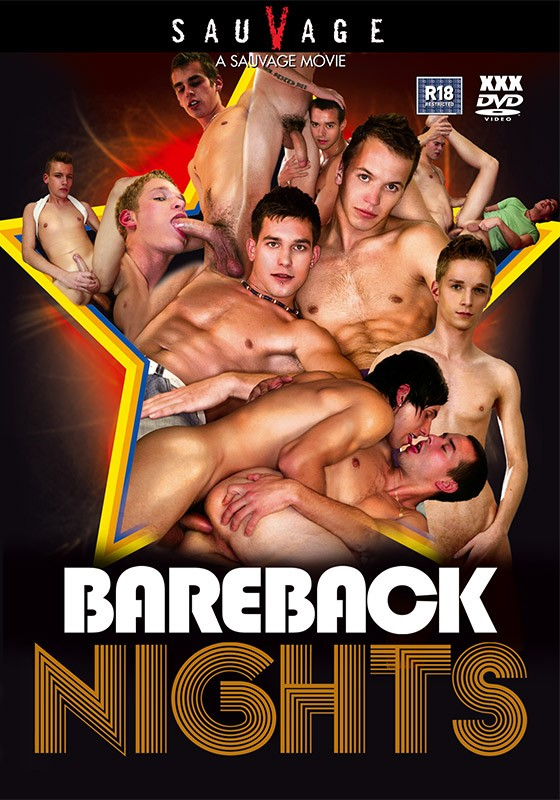 Bareback Nights DVD - Front