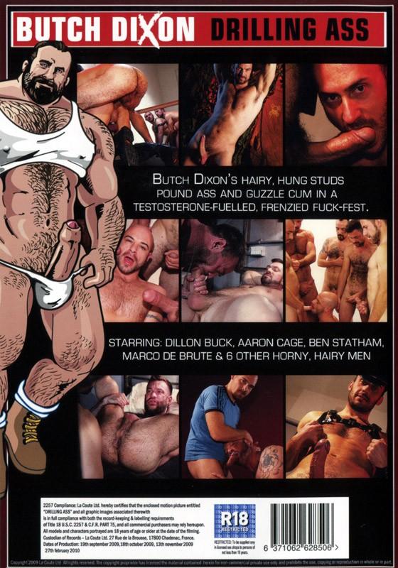 Drilling Ass DVD - Back
