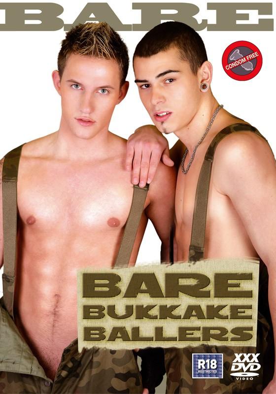 Bare Bukkake Ballers DVD - Front