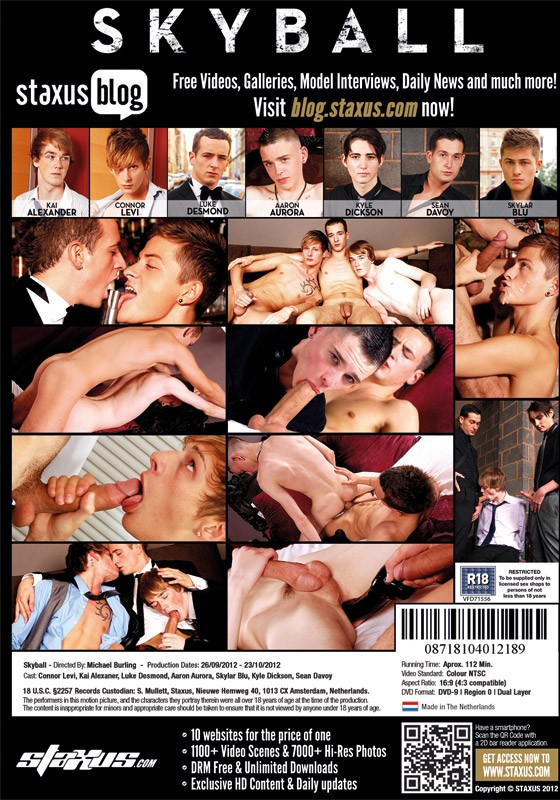 Skyball DVD - Back