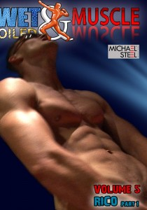 Wet And Oiled Muscle 5: Rico DOWNLOAD - Front