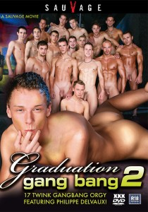 Graduation Gang Bang 2 DVDR (NC)