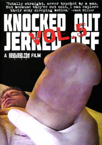 Knocked Out Jerked Off Vol. 5 DVD - Front