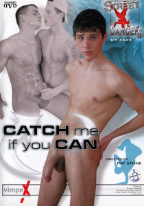 Catch Me If You Can DVD - Front