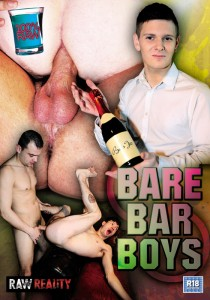 Bare Bar Boys DVD - Front