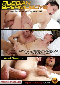 Russian Spermoboys 1 DVD