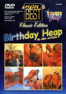 Birthday Heap - Bi Sex Action DVD (NC)