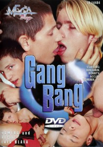 Gang Bang (Mega Boys) DVDR