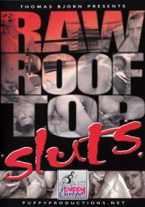 Raw Roof Top Sluts DVD - Front