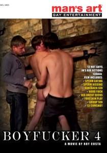 Boyfucker 4 DVD (NC) (S)