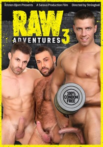 Raw Adventures 3 DVD (S)