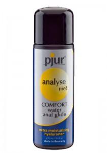 Pjur analyse me! COMFORT anal glide Bottle 30 ml - Front