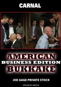 American Bukkake: Business Edition DVD