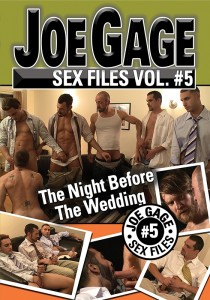 Joe Gage Sex Files vol. #5 The Night Before The Wedding DVD (S)