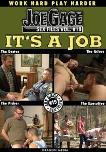 Joe Gage Sex Files vol. #19 It's a Job DVD (S)