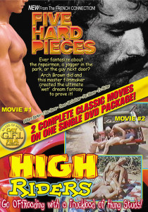 Five Hard Pieces & High Riders DVD (NC)