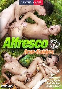 Alfresco Arse-Raiders DVD